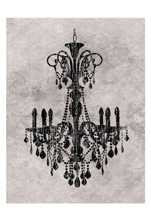 Framed Chandelier 2 Print