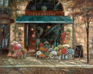 Fleuriste Revisited  Fine Art Print