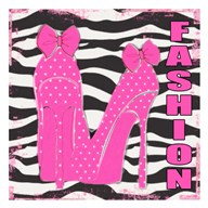 Fashion Zebra  Fine Art Print