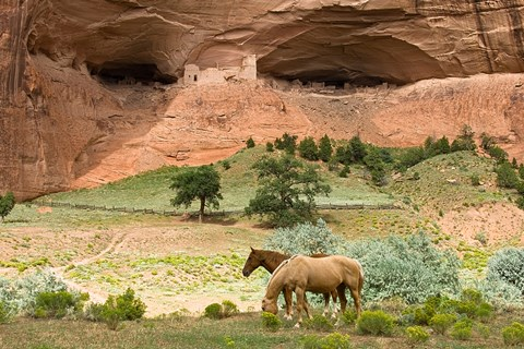 Framed Canyon De Chelly Print