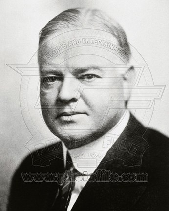 Framed Herbert Hoover, 31st President of the United States Print