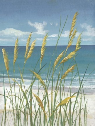 Framed Summer Breeze II Print