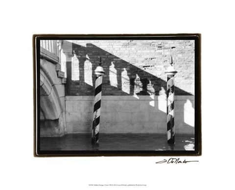 Framed Hidden Passages, Venice VIII Print