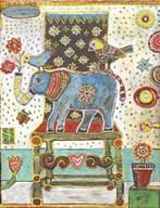 Elephant Chair  Fine Art Print