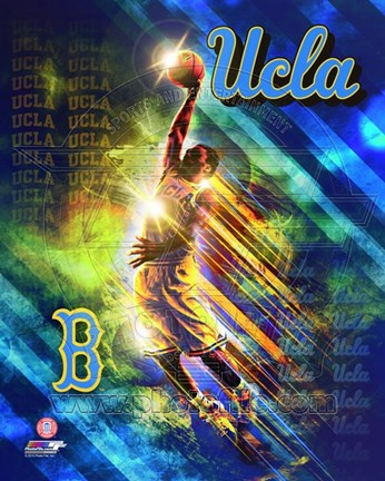 Framed UCLA Bruins Player Composite Print