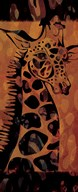 Tie Dye Safari I  Fine Art Print