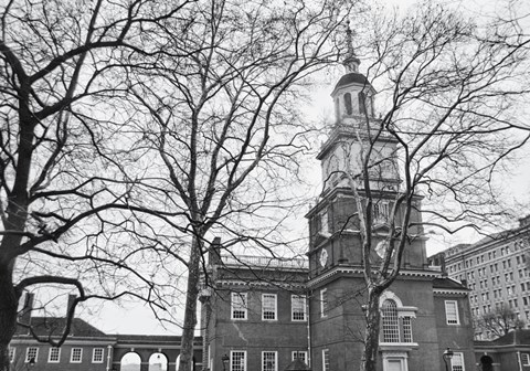 Framed Independence Hall (Horizontal) Print