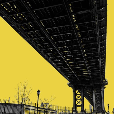 Framed Yellow Underpass Print