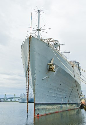 Framed Naval Ship Print