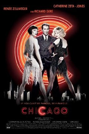 Framed Chicago - The Movie Print
