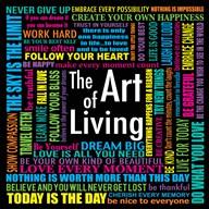 The Art of Living  Fine Art Print