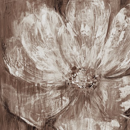 Framed Confetti Bloom II Print