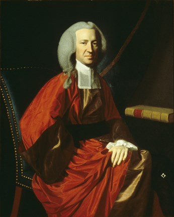Framed Portrait of Judge Martin Howard, 1767 Print