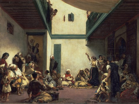 Jewish Wedding In Morocco Fine Art Print By Eugene