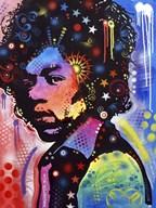 Jimi Hendrix IV  Fine Art Print