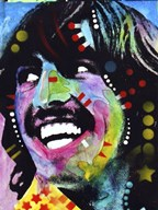 George Harrison  Fine Art Print