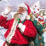 Santa 2  Fine Art Print