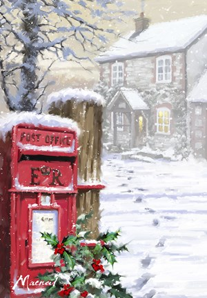 Rural Postbox Fine Art Print By The Macneil Studio At