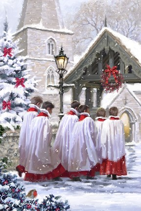 Church Choir Fine Art Print By The Macneil Studio At
