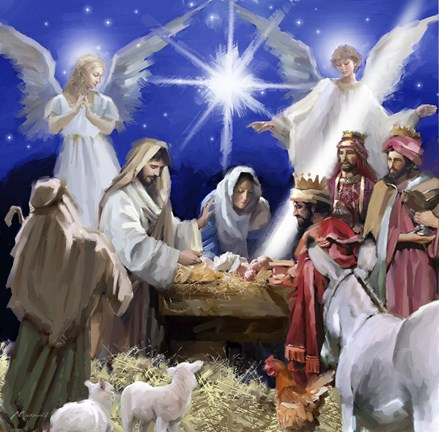 Nativity 2 Fine Art Print By The Macneil Studio At