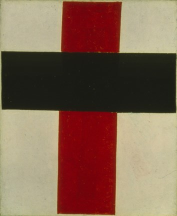 Framed Suprematist Painting, 1920 Print