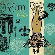 Euro Chic II  Fine Art Print