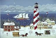 Christmas in the Carolinas  Fine Art Print