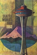 Seattle World's Fair 1962 II  Fine Art Print