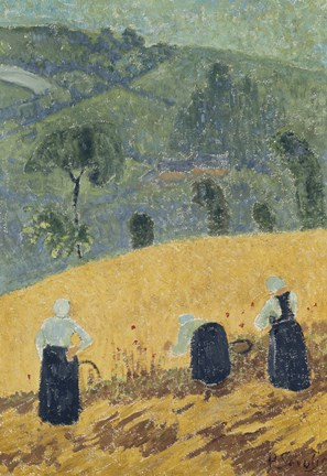 Framed Harvest,  1920-25 Print