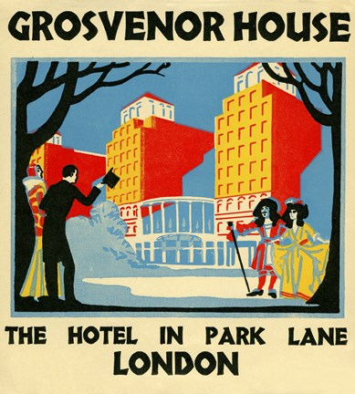 Framed Grosvenor House Print