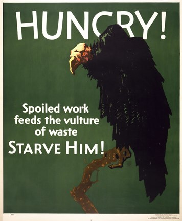 Framed Hungry! Starve Him! Print
