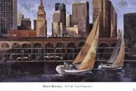 Mart Bofarull - Port de San Francisco  Fine Art Print