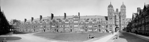 Framed Dormitories, U of P, Philadelphia, Pennsylvania Print