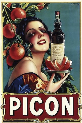 Framed Picon Liquor Print