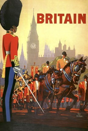 Framed Britain Bighat Print