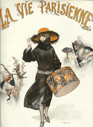 Framed Lavie Parisienne Hatbox Print