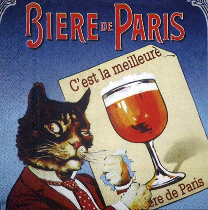 Framed Biere de Paris Print