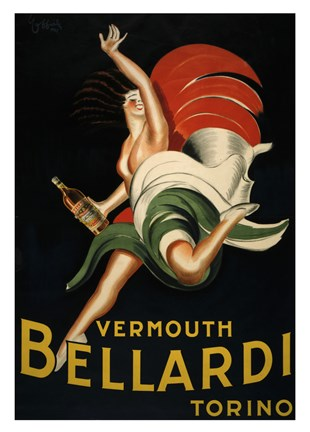 Framed Vermouth Bellardi Print