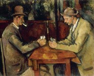 The Card Players  Fine Art Print