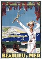 Beaulieu Mer  Fine Art Print