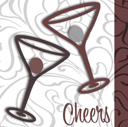 Framed Cheers 2 Print