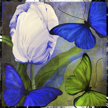 Framed Morphos One Print