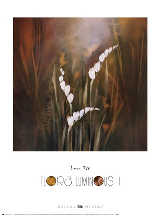 Framed Flora Luminous II Print