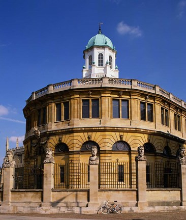 Framed Sheldonian Theatre, Oxford, Oxfordshire, England Print