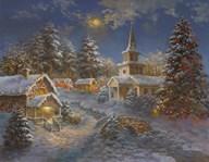 Happy Spirits Await Christmas  Fine Art Print