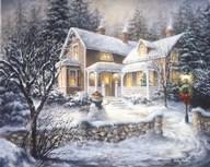 Winter's Welcome  Fine Art Print