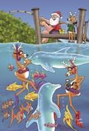 Jetty fishing  Fine Art Print
