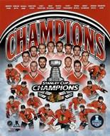 Chicago Blackhawks 2015 Stanley Cup Champions Composite  Fine Art Print