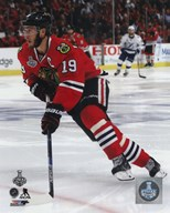Jonathan Toews Game 4 of the 2015 Stanley Cup Finals  Fine Art Print