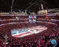 United Center Game 6 of the 2015 Stanley Cup Finals  Fine Art Print